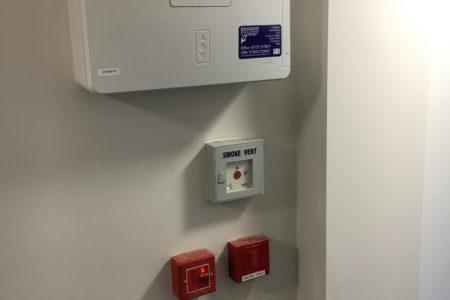 Fire Alarm Smoke Ventilation